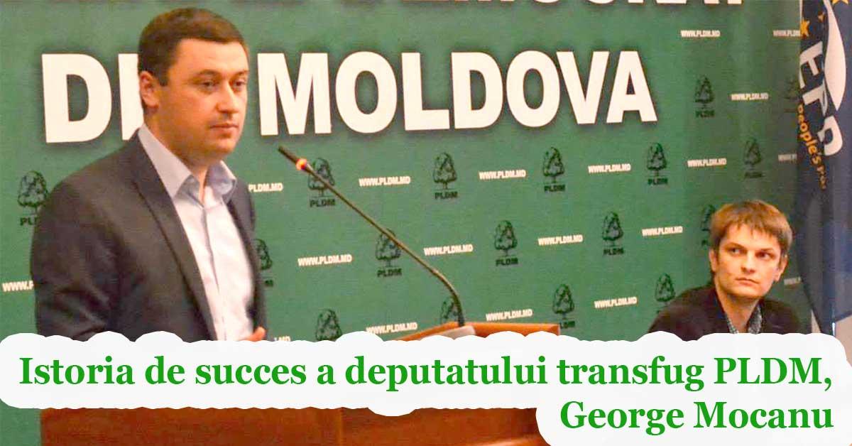 EDITORIAL// Istoria de succes a deputatului transfug PLDM, George Mocanu
